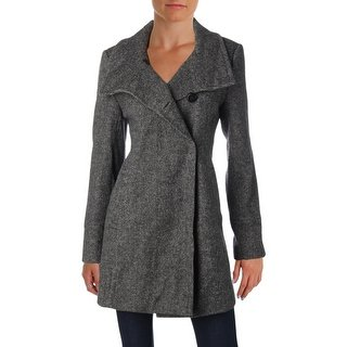 Shop Larry Levine Womens Pea Coat Fall Wool - Free Shipping Today