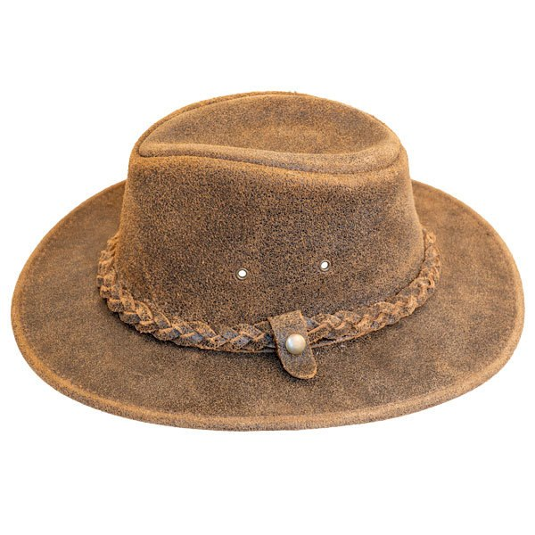 Henschel | Outback Leather Hat | Hats Unlimited