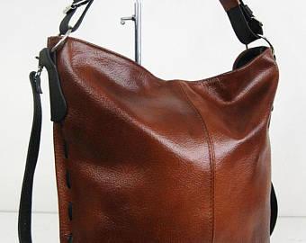 Women love leather hobo bags
