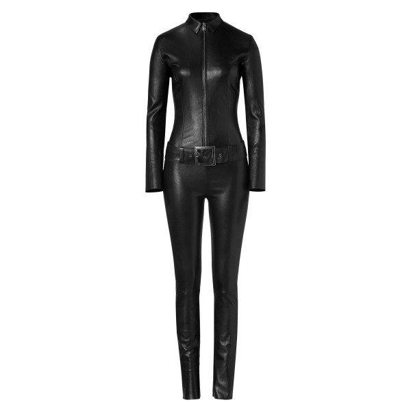 Biker Style Leather Jumpsuit for Women | Jumpsuits Online