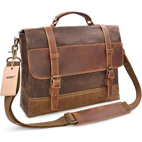 Leather Laptop Bags: Amazon.com