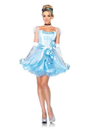 Amazon.com: Leg Avenue Disney 3Pc.Classic Cinderella Dress Choker