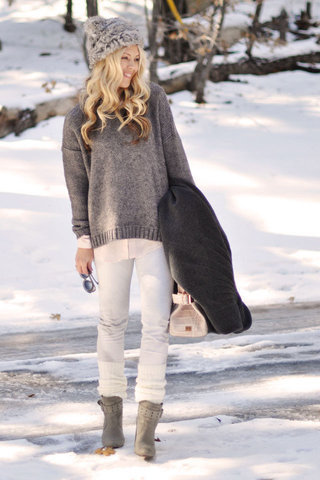 Leg Warmers for Layering Up in the Winter