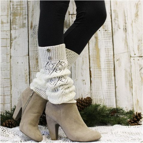 Leg warmers for your Fall and Winter outfits! by Catherine Cole