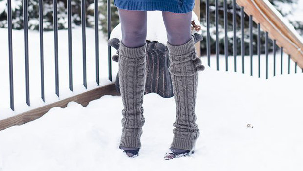 Go comfortable with Leg warmer   for winters