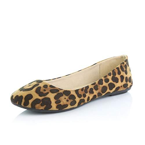 Leopard Flats: Amazon.com