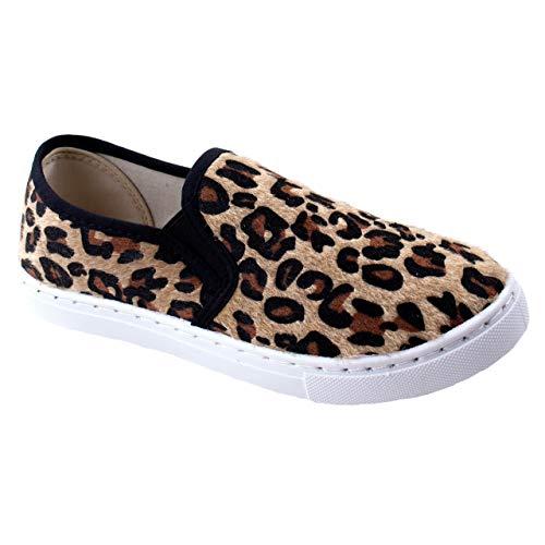 Leopard Slip On Sneaker: Amazon.com