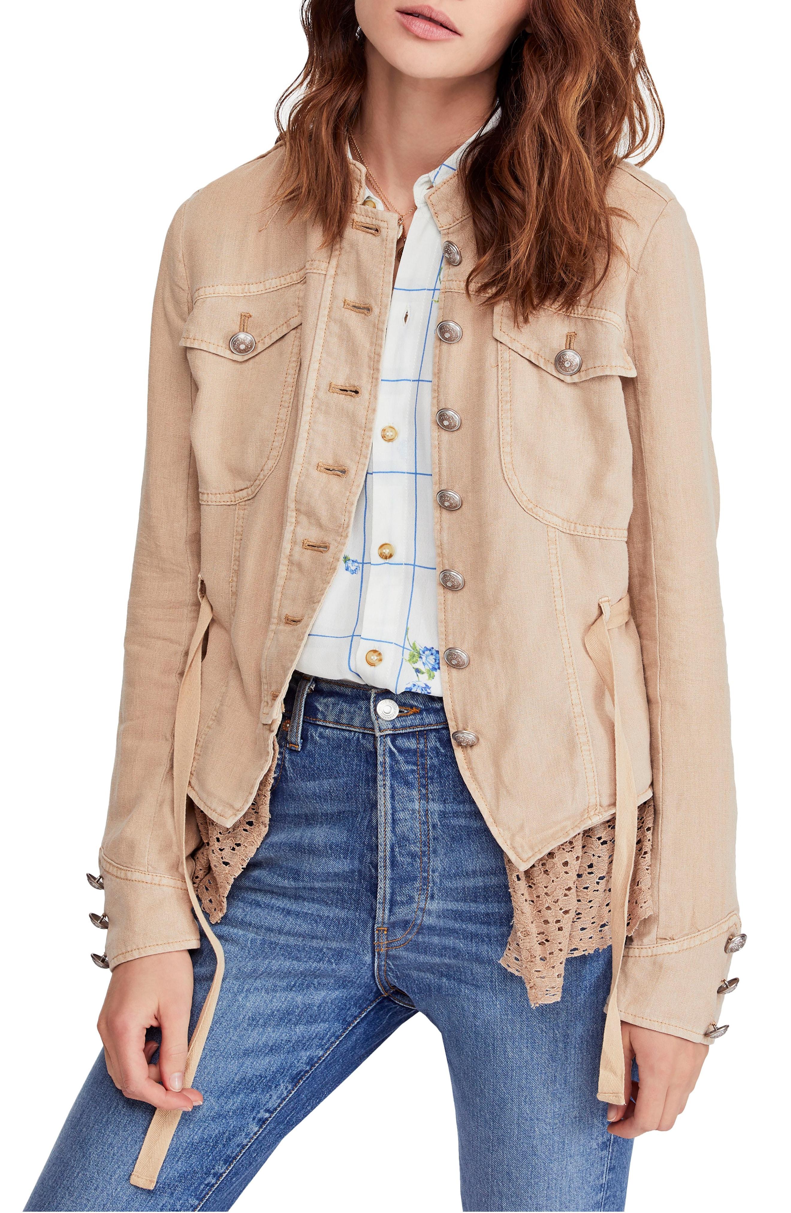 Women's Linen Coats & Jackets   Nordstrom