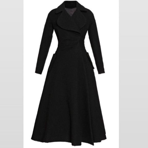 Gianfranco Rossi Jackets & Coats   Long Black Coat   Poshmark
