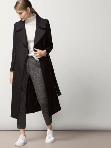 Pin by Aubrey Garay on Women's Fashion in 2019   Winter coat outfits