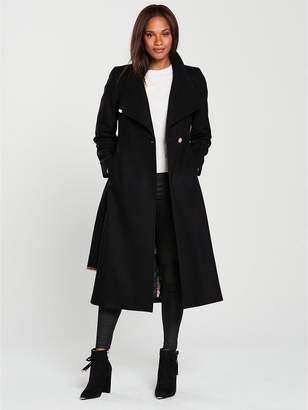 Long Length Black Coats - ShopStyle UK