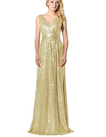 Amazon.com: Belle House Women's Prom Dresses Long Sequins Formal
