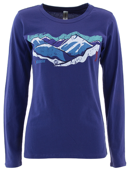 Women's Organic Cotton Long Sleeve T-Shirt - Kahtoola