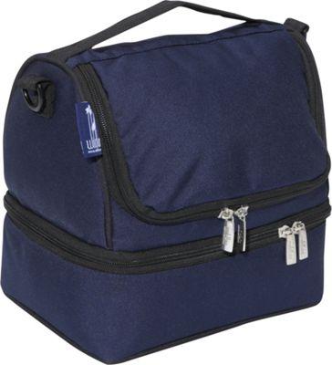 Wildkin Whale Blue Double Decker Lunch Bag - eBags.com