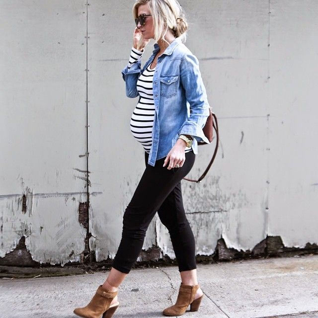 Stay Stylish During Pregnancy | Easy to wear, a casual look for