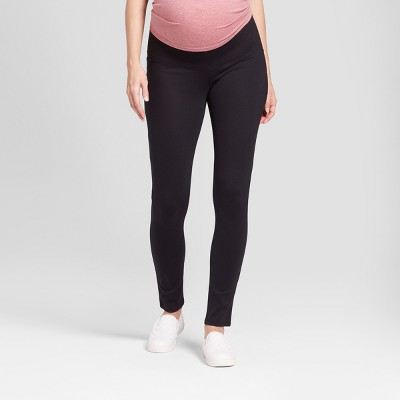 Maternity Inset Panel Ponte Pants - Isabel Maternity By Ingrid