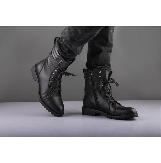 Handmade Mens Military Leather Jacket,Men Nepolian Military Black