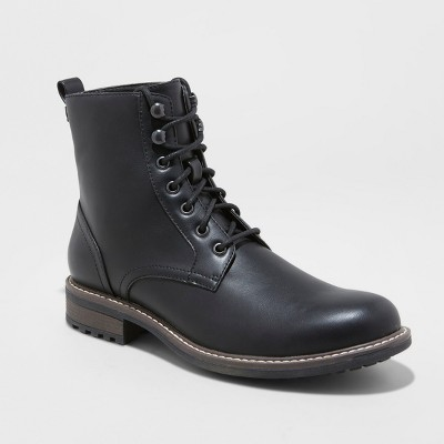 Attractive and fashionable   mens black boots