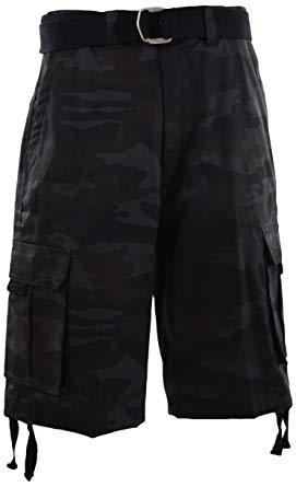 ChoiceApparel Mens Cargo Shorts with Belt | Amazon.com