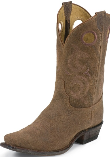 Justin BR611 Men's Bent Rail Western Boot with Madera Gaucho Foot