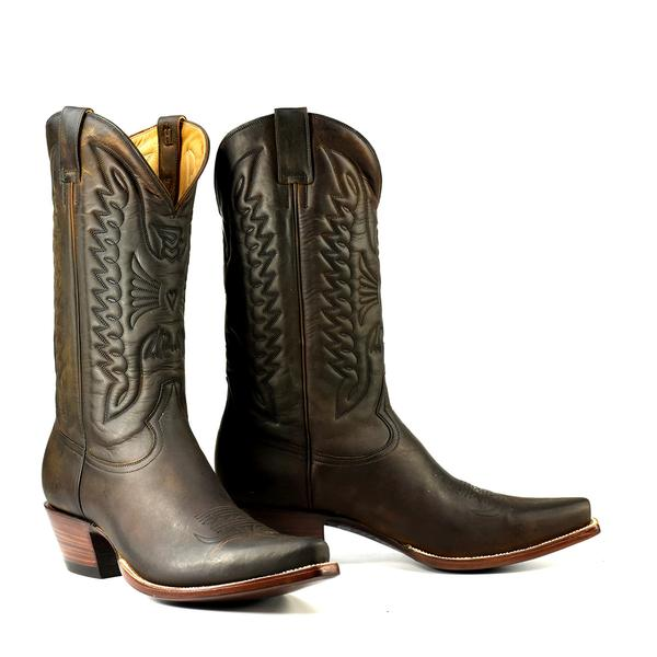 Apache Boot in Brown - Heritage Boot