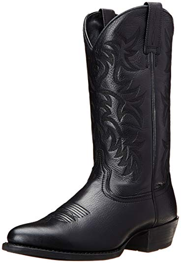 Amazon.com | Ariat Men's Heritage R Toe Western Cowboy Boot | Western