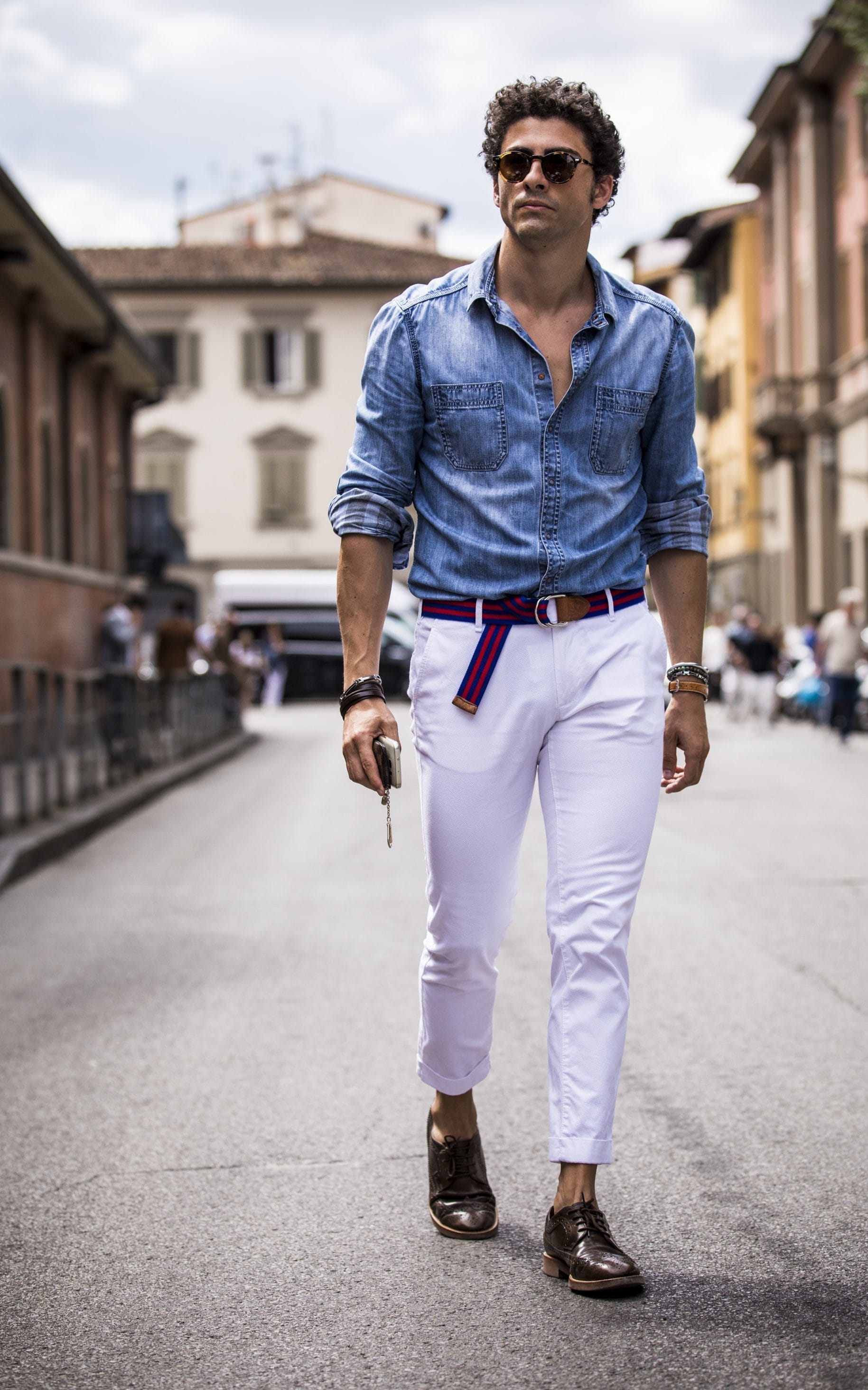 Heatwave style: how to look smart even in sweltering temperatures