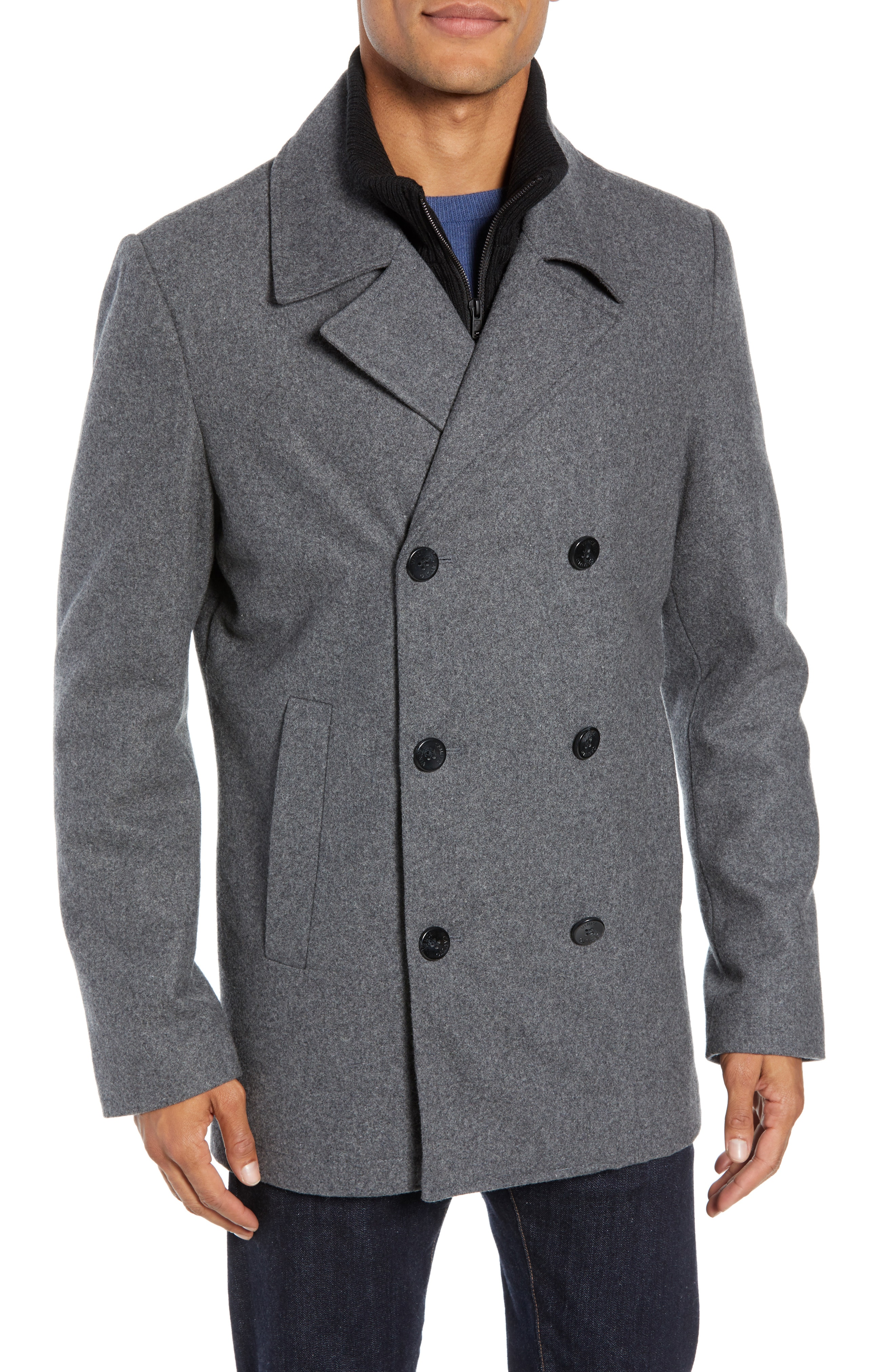 Select the trendy and   fashionable mens pea coats