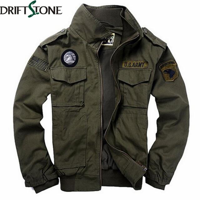 New 101 Flight Jacket Men Military Jacket Military Uniform Spring