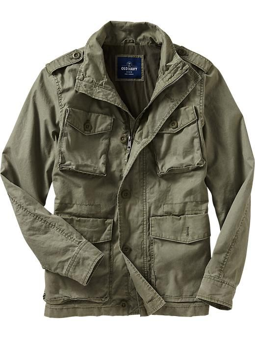 Mens Military Jacket, Fennel Seed, $60   M65 and Field Jackets