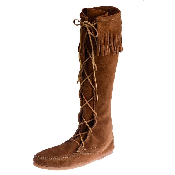 Minnetonka Moccasins 1422 - Women's Knee High Boot - Hardsole