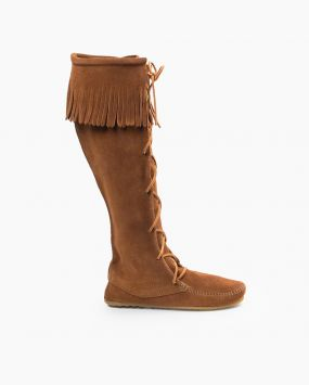 Shop Women's Fringe Boots, Suede Boots and More | Minnetonka