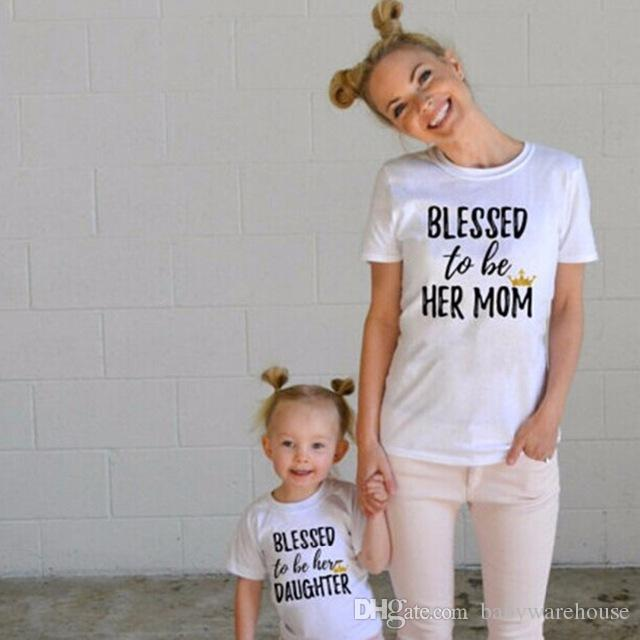 Mother And Daughter Matching Outfit Matching Family Clothing Mommy