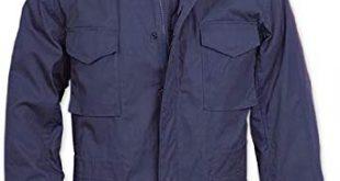Amazon.com: Navy Blue Military M-65 Field Jacket 8527 Size Large