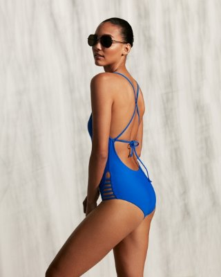 Strappy One-piece Swimsuit   Express