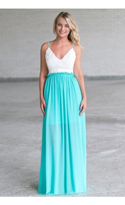 Jade Open Back Maxi Dress, Cute Juniors Dress Online Lily Boutique