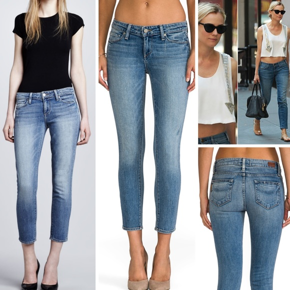 PAIGE Jeans | Denim Kylie Crop Skinny Beachwood 27 | Poshmark