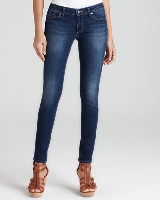 Paige Denim Skyline Skinny Jean in Angelina Wash-Premium Denim