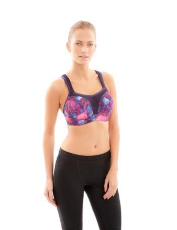 Panache 5021 Sports Bra 83% Less Bounce Cosmic Print | eBay