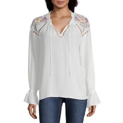 CLEARANCE Peasant Tops Tops for Women - JCPenney