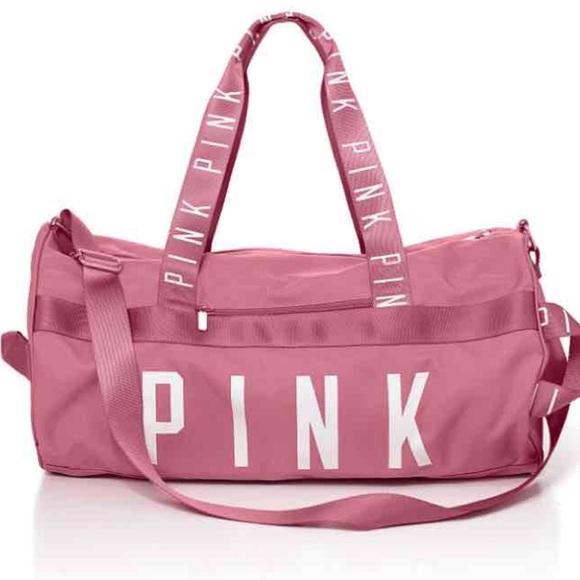 PINK Victoria's Secret Bags | Vs Pink Victorias Secret Duffle Bag