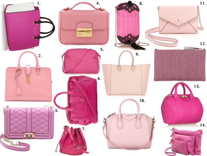 Pink Bags to Show Your Strength: Pink is the New Black