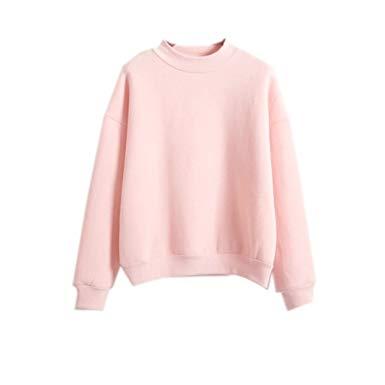 2017 Womens Cute Harajuku Pastel Peach Pink Hoodies Sweatshirts at