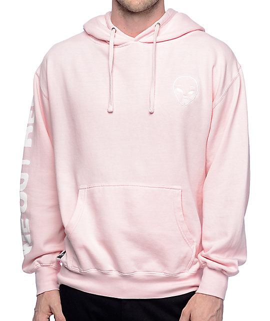 RIPNDIP Get Outer Here Light Pink Hoodie | Zumiez