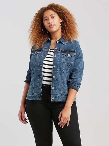 Plus Size Denim Jackets - Shop Women's Jean Jackets | Levi's® US