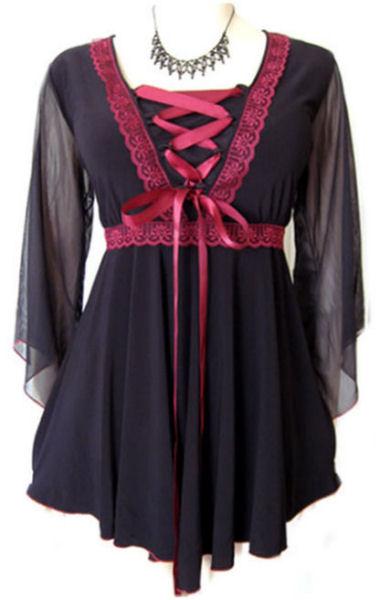 plus size goth clothes | Fat Chance Fashions