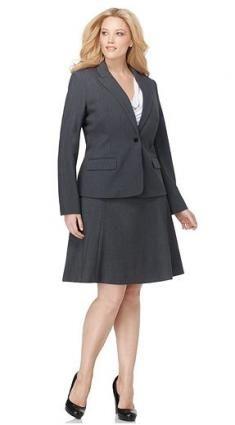 Best Places to Shop for Plus Size Women's Business Suits