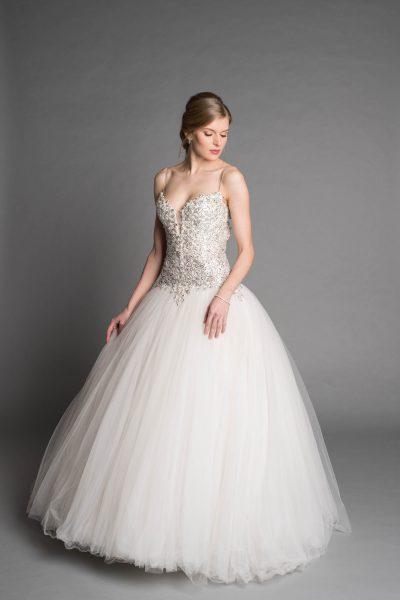 Modern Ball Gown Wedding Dress   Kleinfeld Bridal
