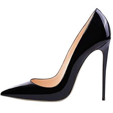 Amazon.com | Lovirs Womens Pointed Toe High Heel Slip On Stiletto