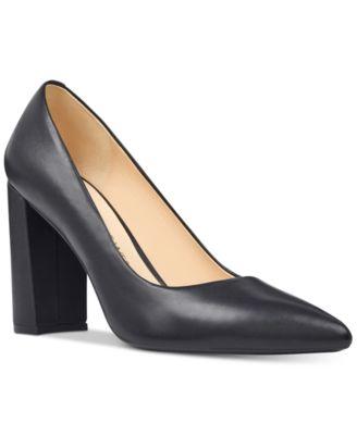 Nine West Astoria Block-Heel Pumps - Pumps - Shoes - Macy's